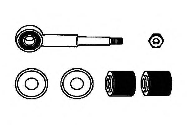 Ремкомплект, соединительная тяга стабилизатора OCAP 0181236-K