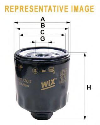 WIX FILTERS (НОМЕР: WL7133) Масляный фильтр