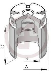 Поршень, корпус скобы тормоза AUTOFREN SEINSA D025120