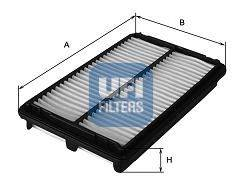 Воздушный фильтр UFI 3022300