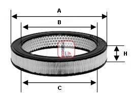 SOFIMA (НОМЕР: S 0660 A) Воздушный фильтр
