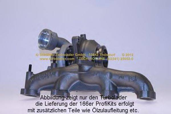 Компрессор, наддув SCHLÜTTER TURBOLADER 166-00361