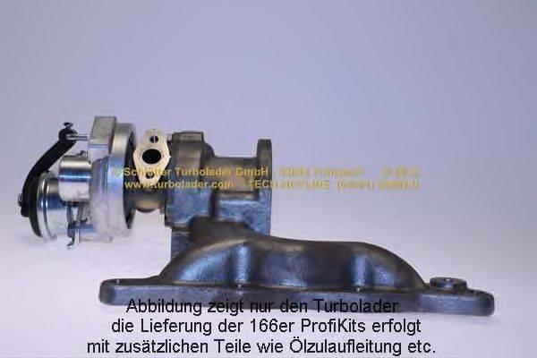 Компрессор, наддув SCHLÜTTER TURBOLADER 166-00515