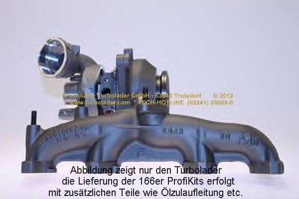 Компрессор, наддув SCHLÜTTER TURBOLADER 166-02701