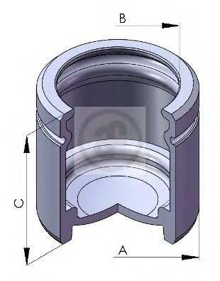 Поршень, корпус скобы тормоза AUTOFREN SEINSA D025107