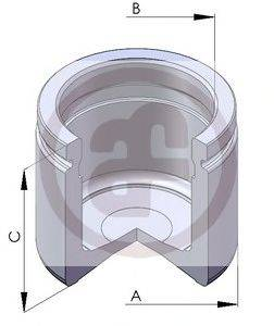 Поршень, корпус скобы тормоза AUTOFREN SEINSA D025112