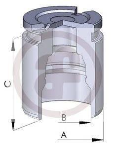 Поршень, корпус скобы тормоза AUTOFREN SEINSA D025126
