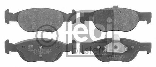 FEBI BILSTEIN (НОМЕР: 16372) Комплект тормозных колодок, дисковый тормоз
