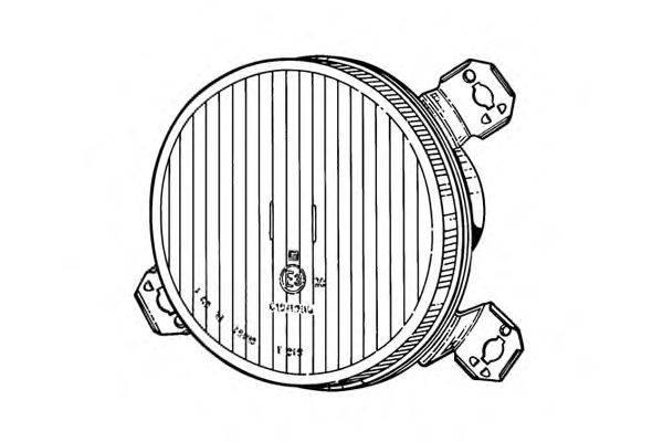 Вставка фары, противотуманная фара EUROLITES LEART 24.449.750
