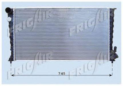 Радиатор, охлаждение двигателя FRIGAIR 0103.3043