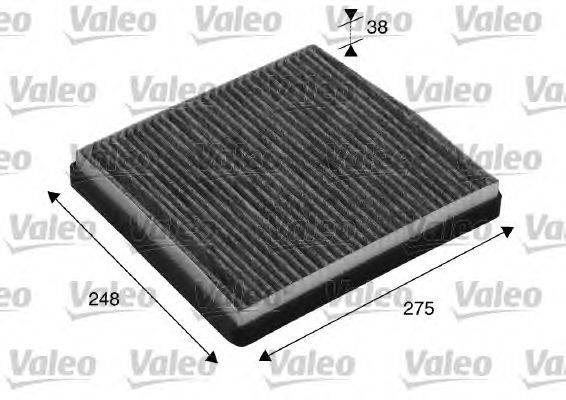 Фильтр, воздух во внутренном пространстве VALEO 715512