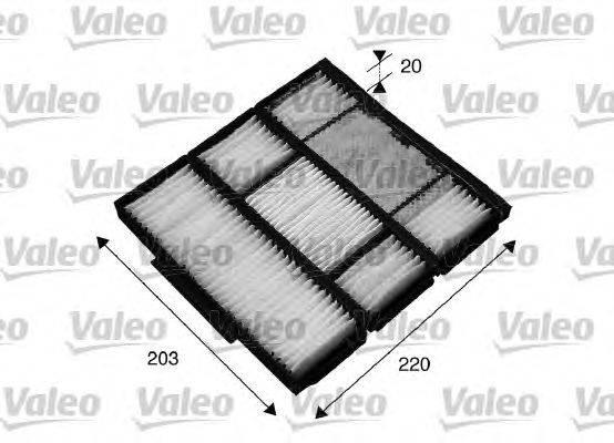 Фильтр, воздух во внутренном пространстве VALEO 715565