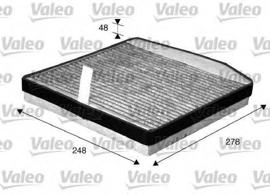 Фильтр, воздух во внутренном пространстве VALEO 715571