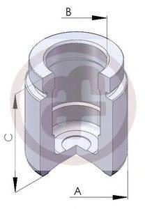 Поршень, корпус скобы тормоза AUTOFREN SEINSA D025125