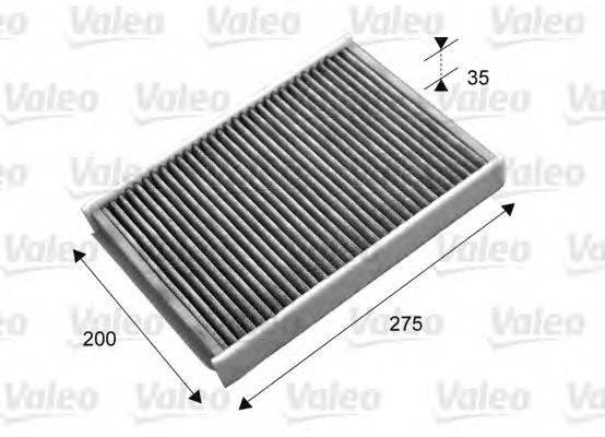 Фильтр, воздух во внутренном пространстве VALEO 715702