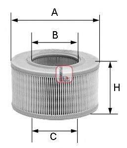 SOFIMA (НОМЕР: S 2040 A) Воздушный фильтр