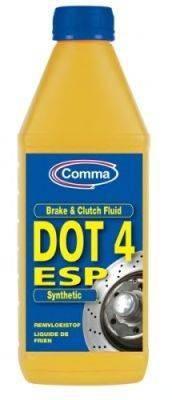 Тормозная жидкость; Тормозная жидкость COMMA BF4ESP1L