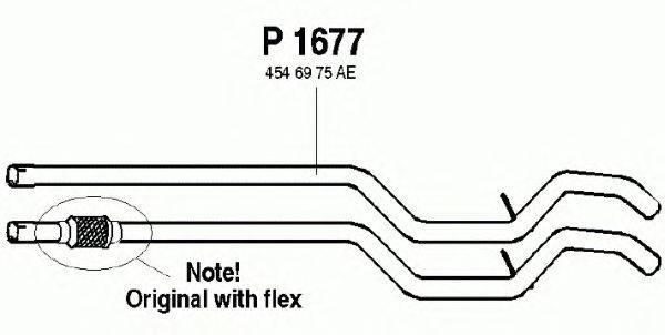 Труба выхлопного газа FENNO P1677
