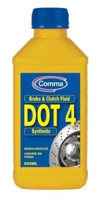 Тормозная жидкость; Тормозная жидкость COMMA BF4500M
