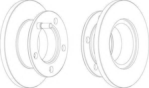 FERODO (НОМЕР: FCR221A) Тормозной диск