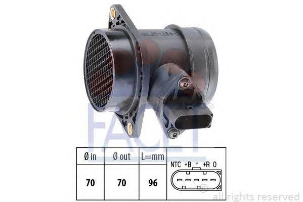 Расходомер воздуха FACET 10.1221