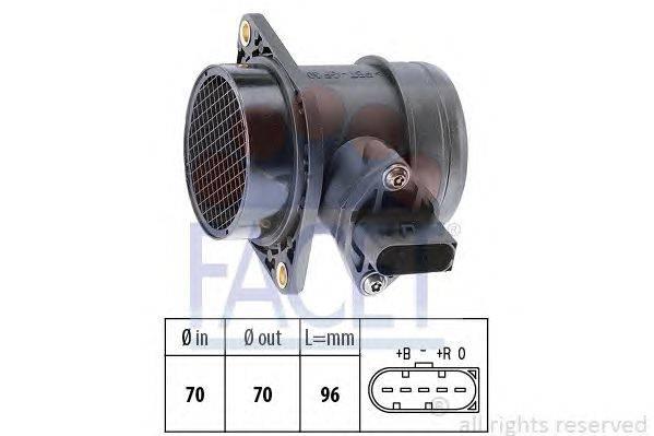 Расходомер воздуха FACET 10.1284