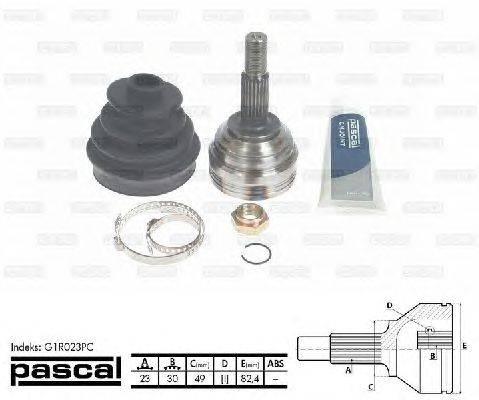 PASCAL (НОМЕР: G1R023PC) Шарнирный комплект, приводной вал