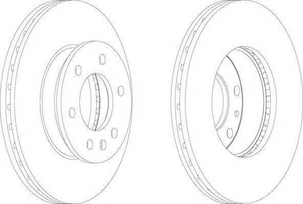 FERODO (НОМЕР: FCR310A) Тормозной диск