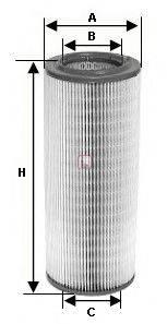 SOFIMA (НОМЕР: S 1060 A) Воздушный фильтр
