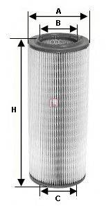 SOFIMA (НОМЕР: S 1250 A) Воздушный фильтр