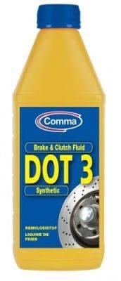 Тормозная жидкость; Тормозная жидкость COMMA BF1L