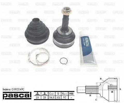 PASCAL (НОМЕР: G1R004PC) Шарнирный комплект, приводной вал