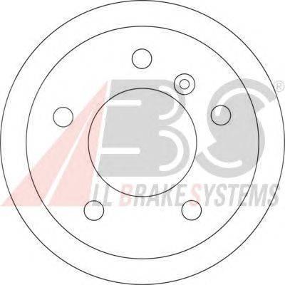 A.B.S. (НОМЕР: 17347) Тормозной диск