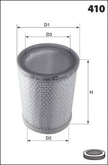 Воздушный фильтр MECAFILTER 124