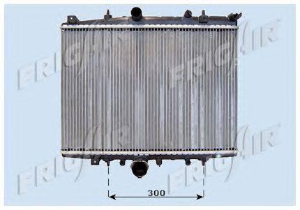Радиатор, охлаждение двигателя FRIGAIR 0103.3063