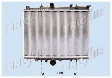 Радиатор, охлаждение двигателя FRIGAIR 0103.3064