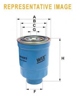 Топливный фильтр WIX FILTERS WF8162