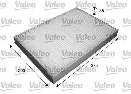 Фильтр, воздух во внутренном пространстве VALEO 715597