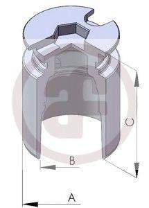Поршень, корпус скобы тормоза AUTOFREN SEINSA D025122