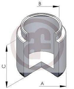 Поршень, корпус скобы тормоза AUTOFREN SEINSA D025128