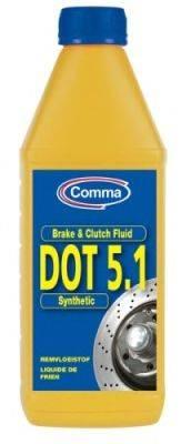 Тормозная жидкость; Тормозная жидкость COMMA BF51L