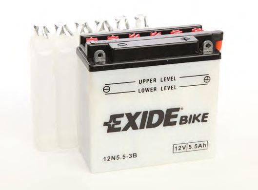 Стартерная аккумуляторная батарея EXIDE 12N5,5-3B