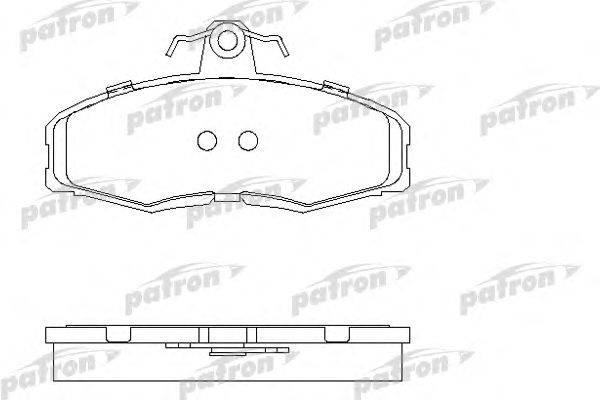 Комплект тормозных колодок, дисковый тормоз PATRON PBP275