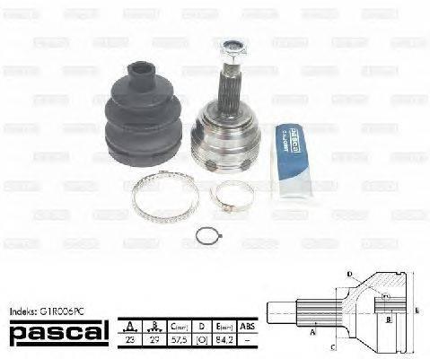 PASCAL (НОМЕР: G1R006PC) Шарнирный комплект, приводной вал