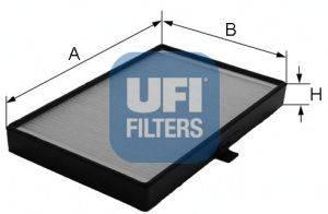 Фильтр, воздух во внутренном пространстве UFI 5307900