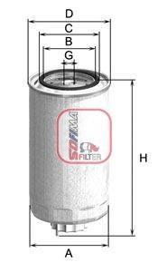 SOFIMA (НОМЕР: S 1999 NR) Топливный фильтр