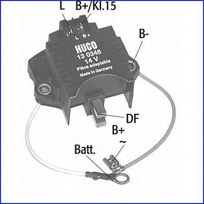 Регулятор генератора HÜCO 130346