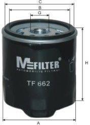 Масляный фильтр MFILTER TF662