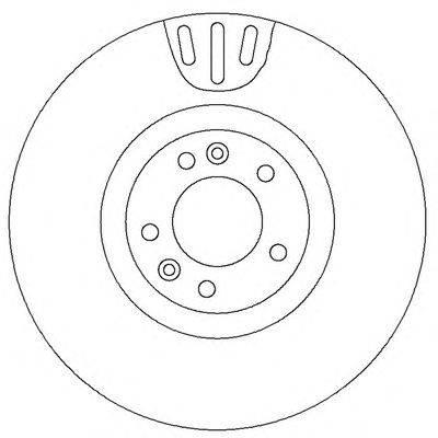Тормозной диск BENDIX 562398B