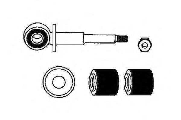Ремкомплект, соединительная тяга стабилизатора OCAP 0181099-K